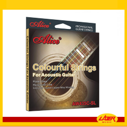 Alice AW435C Multicolor 11-52 Acoustic Guitar Strings
