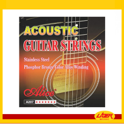 Alice A207 Light 12-53 Phosphor Bronze Color Alloy Winding Acoustic Guitar Strings