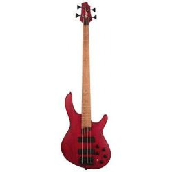 Cort B4P-ASRM Bass Guitar With Bag (Burgundy Red)