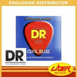 DR CBE-10 Cool Blue 10-46 Electric Guitar Strings
