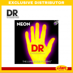 DR NYB5-40 NEON Yellow 40-120 Bass Guitar Strings