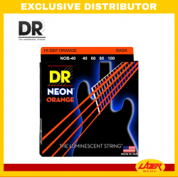DR NOB-40100 Neon Orange Bass Str-G40-100