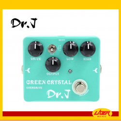Dr.J D50 Crystal Green Overdrive Guitar Effects Pedal