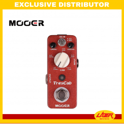 Mooer TRESCAB High Quality Digital Cab Simulated Pedal