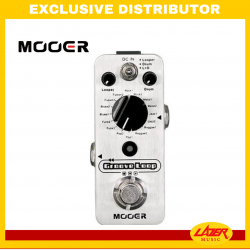 Mooer GROOVE LOOP Micro Machine and Looper Pedal