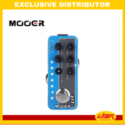 Mooer CALI-MK IV Dual Channel Preamp Delay/Reverb Effects