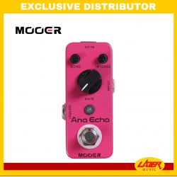 Mooer Ana Echo Analog Delay Effects Pedal
