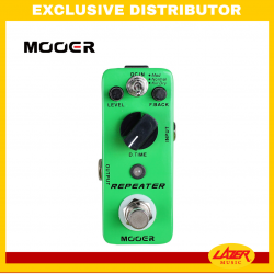 Mooer Repeater Digital Delay Effects Pedal