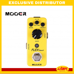 Mooer Flex Boost Guitar Effects Pedal
