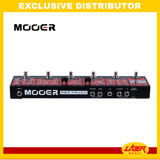 Mooer Red Truck Multi Effects Pedal