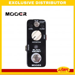 Mooer Black Secret Distortion Guitar Effects Pedal