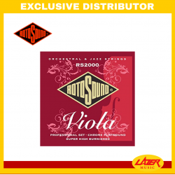 Rotosound RS2000  Flatwound Professional Viola Strings