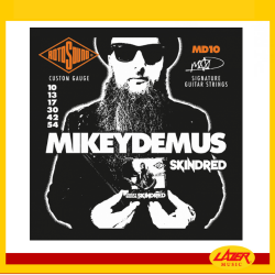 Rotosound MD10  Mikey Demus Skindred Signature Set Nickel Electric Guitar Strings 10-54