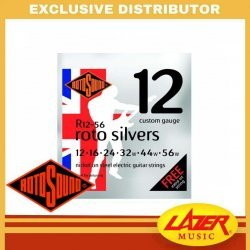 Rotosound R12-56 Roto Silvers Nickel On Steel 12-56 Electric Guitar Strings