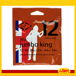 Rotosound JK12 Jumbo King 12-54 Phosphor Bronze Acoustic Guitar Strings
