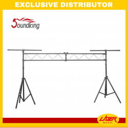 Soundking DA010 Aluminium Lighting Stand 3x3M Flat Truss Bridge