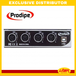 Prodipe HILPRO4140 USB MIDI Interface 4IN 4OUT
