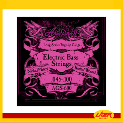 Aria AGS-600 Electric Bass Strings 0.045-.100