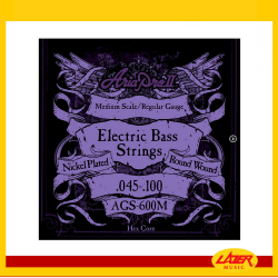 Aria AGS-600M Bass String Medium Scale .045-.100