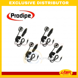 Prodipe DL21 Mic for Drumkit - 4-mic Pack for Snare Drum and Torris