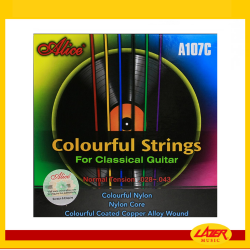 Alice A107C Multicolor 28-43 Classical Guitar Strings
