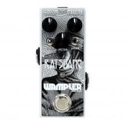 Wampler Ratsbane 9v-18v High Gain Distortion Pedal