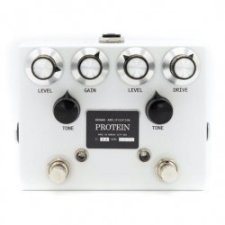 BROWNE AMPLIFICATION - THE PROTEIN (WHITE) - DUAL OVERDRIVE PEDAL