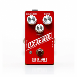 GREER AMPS - LIGHT SPEED - RED WHITE