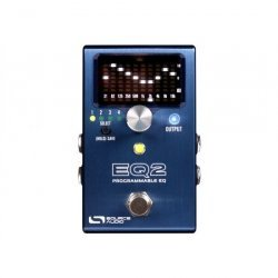 SOURCE AUDIO - EQ2 PROGRAMMABLE EQUALIZER WITH BUILT-IN TUNER