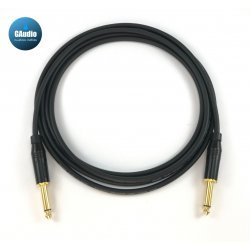 Mogami 2319 - Custom Series Guitar Instrument Cable - Amphenol Gold Connectors - Straight To Straight End