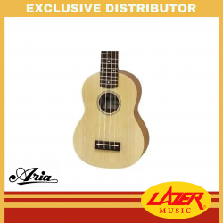 Aria MKU-1N Soprano Ukulele with Bag