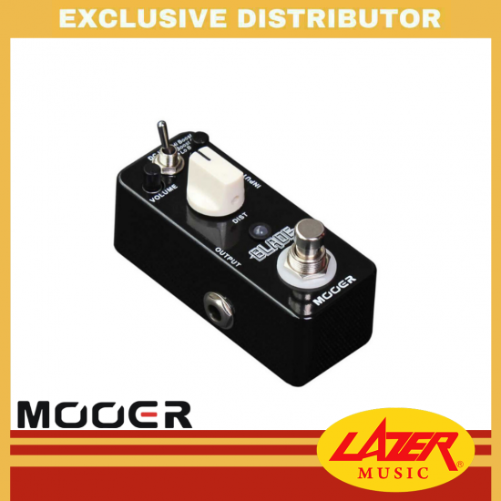 Mooer BLADE Heavy Metal Distortion Pedal