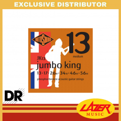 Rotosound JK13 Jumbo King 13-56 Phosphor Bronze Acoustic Guitar Strings