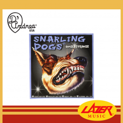 D'Andrea Snarling Dog SDN40 Gauge 40-95 Electric Bass Guitar Strings