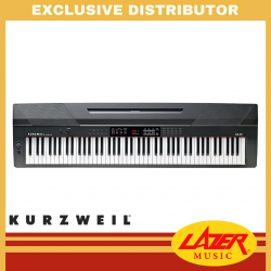 Kurzweil KA-90 88-Key Fully-Weighted Hammer Arranger Stage Piano (Black)